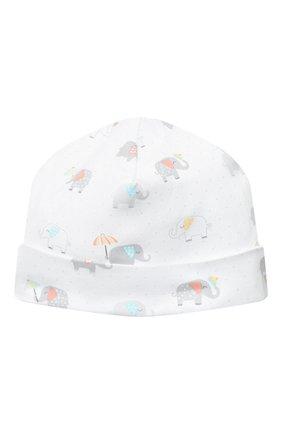 Детского хлопковая шапка KISSY KISSY разноцветного цвета, арт. KN504644N | Фото 2