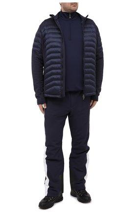 Мужской утепленные брюки BOGNER темно-синего цвета, арт. 11084815 | Фото 2