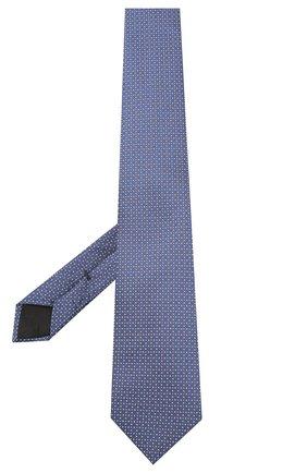Мужской шелковый галстук BOSS синего цвета, арт. 50447032 | Фото 2