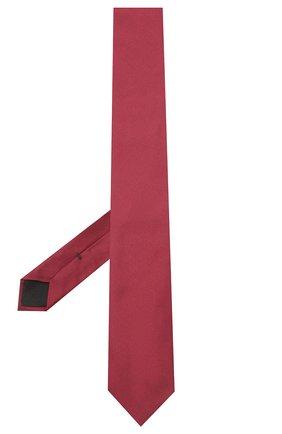 Мужской шелковый галстук BOSS бордового цвета, арт. 50447075 | Фото 2
