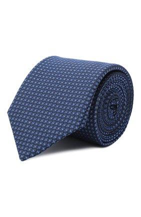 Мужской галстук BOSS синего цвета, арт. 50446807 | Фото 1