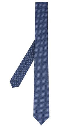 Мужской галстук BOSS синего цвета, арт. 50446807 | Фото 2