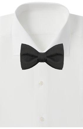 Мужской шелковый галстук-бабочка BOSS черного цвета, арт. 50448764 | Фото 2