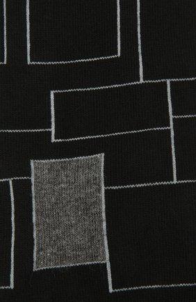 Мужские хлопковые носки BOSS черного цвета, арт. 50442811   Фото 2