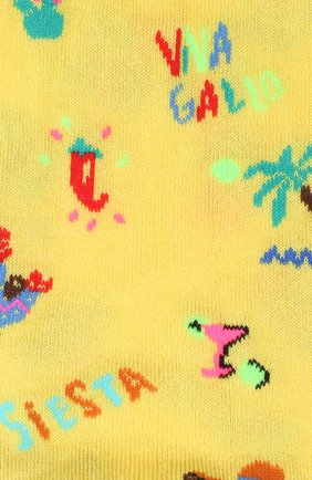 Мужские носки GALLO желтого цвета, арт. AP510135   Фото 2
