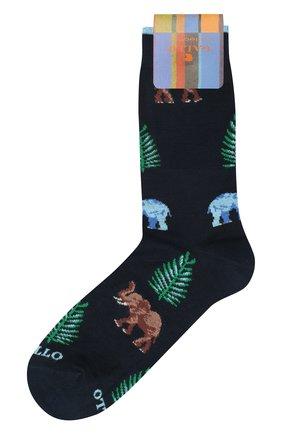 Мужские хлопковые носки GALLO темно-синего цвета, арт. AP510024   Фото 1
