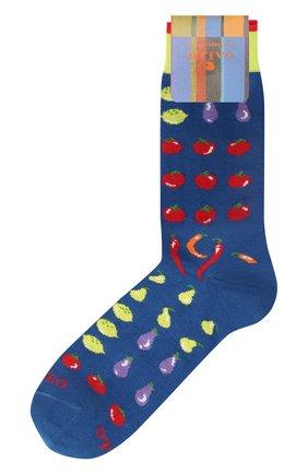 Мужские хлопковые носки GALLO темно-синего цвета, арт. AP509840   Фото 1