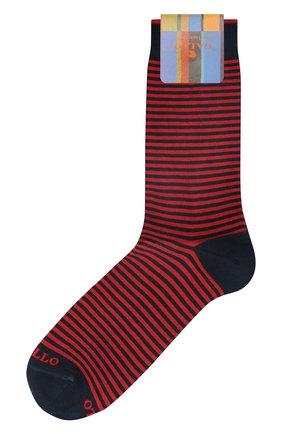 Мужские хлопковые носки GALLO красного цвета, арт. AP103650 | Фото 1
