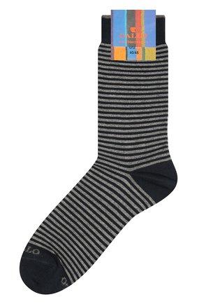 Мужские хлопковые носки GALLO серого цвета, арт. AP103650 | Фото 1