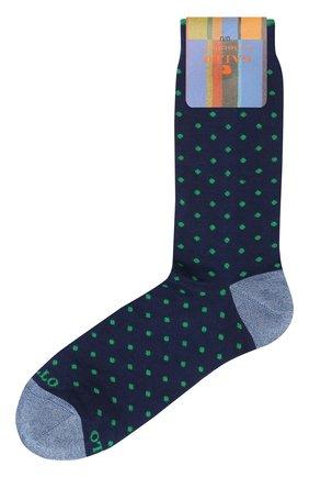 Мужские хлопковые носки GALLO темно-синего цвета, арт. AP103614   Фото 1