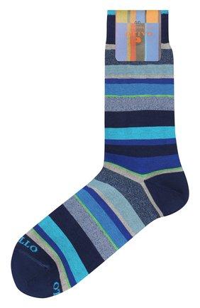 Мужские хлопковые носки GALLO синего цвета, арт. AP103480 | Фото 1