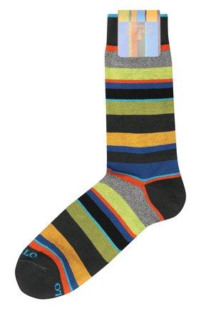 Мужские хлопковые носки GALLO темно-серого цвета, арт. AP103480 | Фото 1
