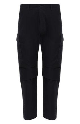 Мужской хлопковые брюки-карго TOM FORD темно-синего цвета, арт. BW141/TFP223 | Фото 1