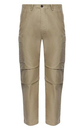 Мужские хлопковые брюки-карго TOM FORD бежевого цвета, арт. BW141/TFP223 | Фото 1