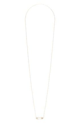 Женское колье J-POINT золотого цвета, арт. ИПГ857.64.260719.11P   Фото 1