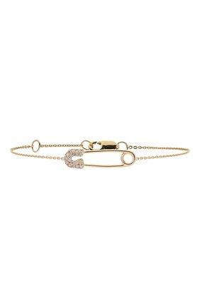 Женская браслет J-POINT золотого цвета, арт. ИПГ857.49.161020.26Y   Фото 1