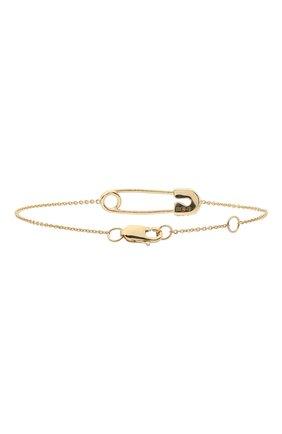 Женская браслет J-POINT золотого цвета, арт. ИПГ857.49.161020.26Y   Фото 2