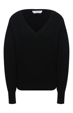 Женский кашемировый свитер BOSS черного цвета, арт. 50444484 | Фото 1