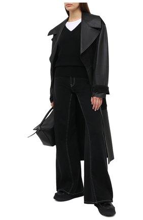 Женский кашемировый свитер BOSS черного цвета, арт. 50444484 | Фото 2