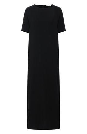 Женское платье THE ROW черного цвета, арт. 5576W1968 | Фото 1