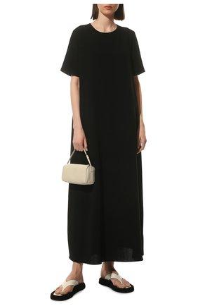Женское платье THE ROW черного цвета, арт. 5576W1968 | Фото 2