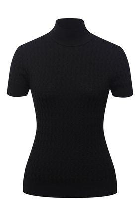 Женская шелковый пуловер DOLCE & GABBANA черного цвета, арт. FX905T/JASNV | Фото 1
