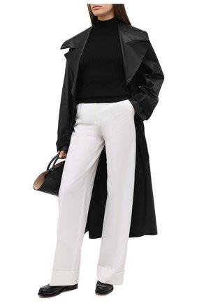 Женская шелковый пуловер DOLCE & GABBANA черного цвета, арт. FX905T/JASNV | Фото 2