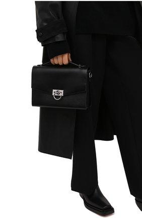 Женская сумка hendrix medium MICHAEL MICHAEL KORS черного цвета, арт. 30F0S1HM2L | Фото 2