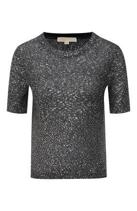 Женский пуловер MICHAEL MICHAEL KORS черного цвета, арт. MF06PCLFJV | Фото 1