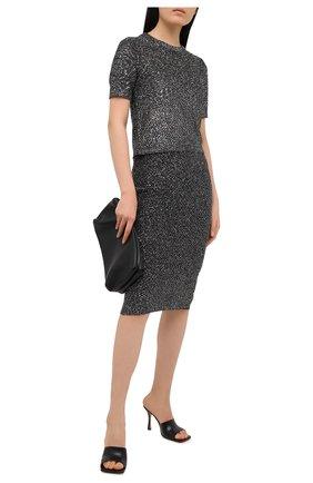 Женский пуловер MICHAEL MICHAEL KORS черного цвета, арт. MF06PCLFJV | Фото 2