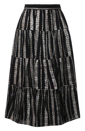 Женская юбка MICHAEL MICHAEL KORS черного цвета, арт. MF07EV4F6J | Фото 1