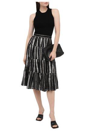 Женская юбка MICHAEL MICHAEL KORS черного цвета, арт. MF07EV4F6J | Фото 2