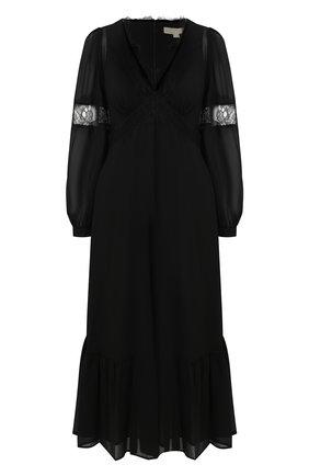Женское платье MICHAEL MICHAEL KORS черного цвета, арт. MF0800H7R3 | Фото 1