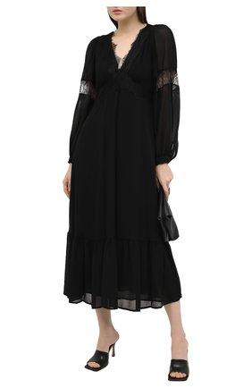 Женское платье MICHAEL MICHAEL KORS черного цвета, арт. MF0800H7R3 | Фото 2