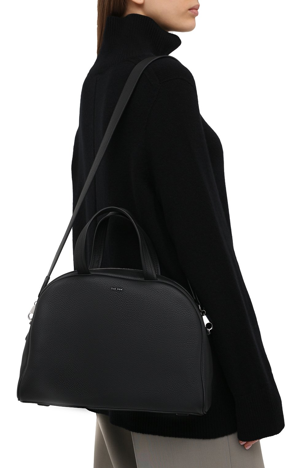 Женская сумка THE ROW черного цвета, арт. W1261L129 | Фото 5