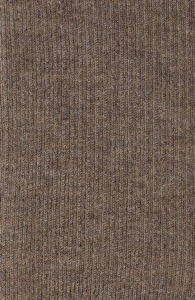 Женские колготки из смеси кашемира и шелка LORO PIANA темно-бежевого цвета, арт. FAC5023 | Фото 2