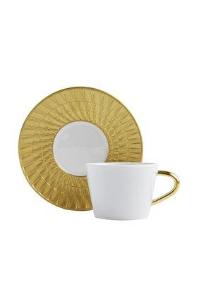Кофейная чашка с блюдцем Twist Or | Фото №1