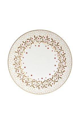 Тарелка обеденная Noel Blanc | Фото №1