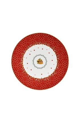 Тарелка салатная Cadeau Noel Rouge | Фото №1