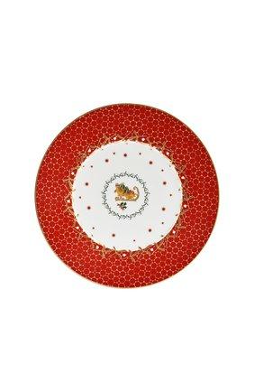 Тарелка салатная Traineau Noel Rouge | Фото №1
