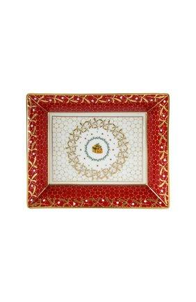 Мелочница noel rouge BERNARDAUD красного цвета, арт. 1918/4511 | Фото 1 (Ограничения доставки: fragile-2)