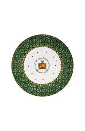 Тарелка салатная Cheminee Noel Vert | Фото №1