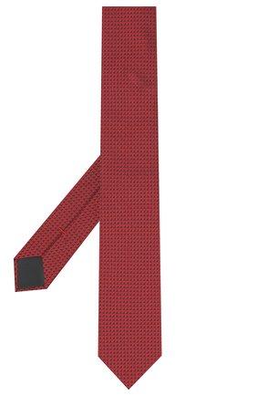 Мужской шелковый галстук HUGO красного цвета, арт. 50447336 | Фото 2
