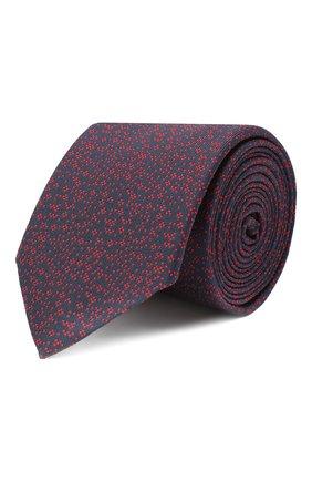 Мужской шелковый галстук HUGO темно-синего цвета, арт. 50447339 | Фото 1