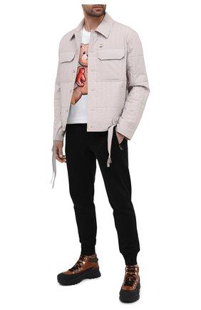 Мужские кожаные ботинки CAMERLENGO коричневого цвета, арт. Z15642GUMNE730/MURAN0 | Фото 2