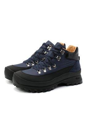 Мужские комбинированные ботинки CAMERLENGO темно-синего цвета, арт. Z15642GUMNE730/TUCAN0 | Фото 1