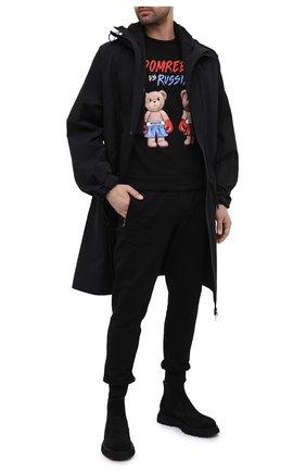 Мужские замшевые челси CAMERLENGO черного цвета, арт. Z15693G0RNE732 | Фото 2