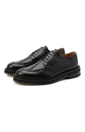 Мужские кожаные дерби CAMERLENGO черного цвета, арт. Z15700MURNE724 | Фото 1