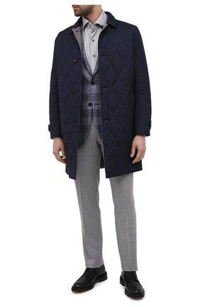 Мужской кожаные дерби CAMERLENGO черного цвета, арт. Z15700MURNE724 | Фото 2