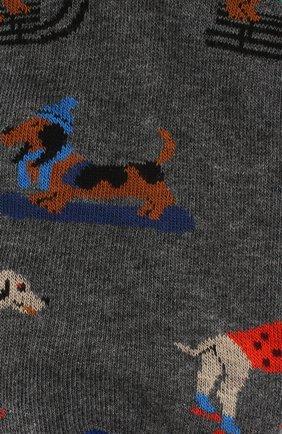 Мужские хлопковые носки GALLO серого цвета, арт. AP510609 | Фото 2